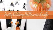 8 jolies Halloween Artisanat Glittery