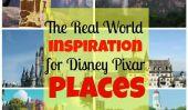 15 Incroyable réel Inspirations mondial pour Disney et Pixar Films