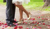 Cadeau de mariage créatif - de sorte que vous bricoler un collage photo en forme de coeur