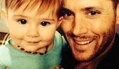 Actions Jensen Ackles adorable photo de sa fille Justice