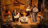 Scènes de la Nativité - créer des plans pour la décoration de papier pour Noël