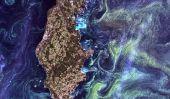 Terre comme Art: les plus belles images satellite Landsat
