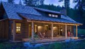 Log Homes dans le Montana