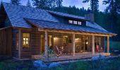 Log Homes dans le Montana