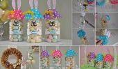 Bouteilles mignon bricolage lapin de Pâques