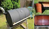 Comment faire votre propre barbecue l'aide d'un 55-gallon Honey Barrel