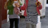 Spotted: Jennifer Garner fait une course café avec elle Filles (Photos)