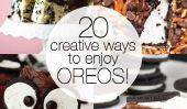 Oreo Madness!  20 Delicious et Creative façons de profiter de Oreos!
