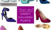 Alerte tendance: 9 paires magnifiques Bonbons Colorés Pompes