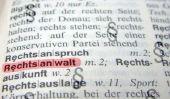 Que signifie le mot orthographe?  - Une explication