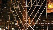 Hanukkah événements à New York: la plus grande Hanukkah Menorah monde