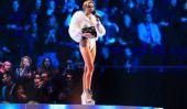 Miley Cyrus 2013 MTV Europe Music Awards: Chanteur répond aux critiques Après controverse mixte fumeurs