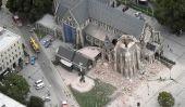Tremblement de terre en Nouvelle-Zélande en images
