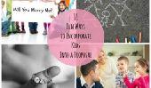 11 façons amusantes d'intégrer les enfants dans une proposition