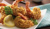 Noyer incrustés crevettes avec Ponzu Glaze