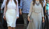 Kim et Kourtney Kardashian frapper les magasins à Miami (Photos)