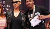 Amber Rose abat Nick Cannon rumeurs comme il continue bataille pour la garde avec Mariah Carey