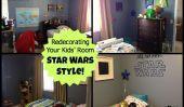 Redécorer la chambre Star Wars style de votre Kid - Partie 2: Getting It On The Wall