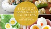 12 jours de Recettes œuf dur