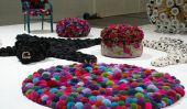 Comment faire un Colorful Pompom Rug