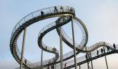 Piéton Roller Coaster en Allemagne