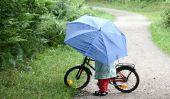 Faire du vélo à la pluie - si vous vous habillez intempéries