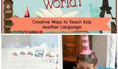 8 façons créatives d'enseigner aux enfants une autre langue