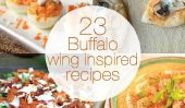 23 Recettes Plaisir et piquante Buffalo Wing Inspired