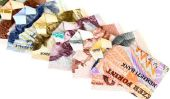Origami - plier Geldgeschenke