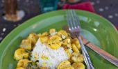 De noix de coco au curry bananes Caribe