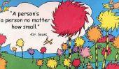 Dr. Seuss citations qui nous font sentir tous les sentiments