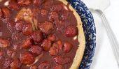 Strawberry Tart Nutella Puff: Il est comme avoir un dessert pour le petit déjeuner, mais il vaut mieux pour vous!