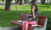 Avec un ordinateur portable sur le téléphone pour l'Internet - comment cela fonctionne: