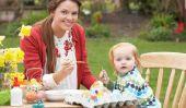 Artisanat pour Pâques, lorsque les enfants de 4 ans
