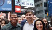 Producteur exécutif de Latino Etats-Unis et chef de la direction de Futuro Media Group Maria Hinojosa lance de l'Amérique par les numéros «diversité Docu-Series