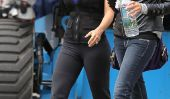 Salma Hayek cherche Fierce dans Outfit moulante (Photos)