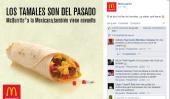 Les pays de McDonald pour briser le Mexique Tradition, dit Censément burritos, tamales Non, doivent être consommés sur Día de la Candelaria
