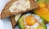 Breakfast Fun: Baked oeufs dans Avocats