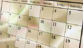 Pourquoi est le lundi lundi?  Déclare noms des jours de la semaine -