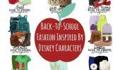 Retour à la mode école Inspiré par les Personnages Disney