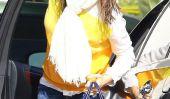 Pas le temps pour une sécheuse?  Jennifer Garner Goes Out avec les cheveux mouillés (Photos)
