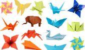 Origami - instructions de pliage dragon - de sorte qu'il est mignon