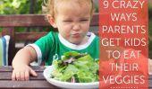 9 folles façons dont les parents amener les enfants à manger des légumes!