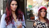 Snooki enceinte Caught Shopping à Jersey City (Photos)