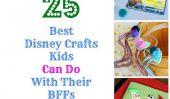 BFFs: 25 Kid-Friendly Disney Artisanat pour meilleurs amis!