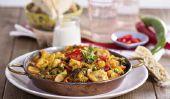 Cours de cuisine végétarienne - L'échange principale et ingrédients de base