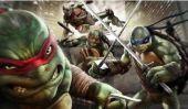 Film 2014 Date de sortie 'Teenage Mutant Ninja Turtles, Cast & Nouvelles Mise à jour: Les fans consternés par les Looks tortues;  «Ils sont en forme Bizarrement '