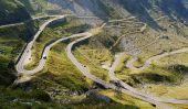 Le Twist et tours de Transfagarasan routier, Roumanie