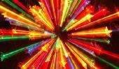 kaléidoscopes Tinker à partir d'un tube en carton - comment cela fonctionne: