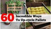 60 Ways impressionnants de réutiliser des palettes en bois